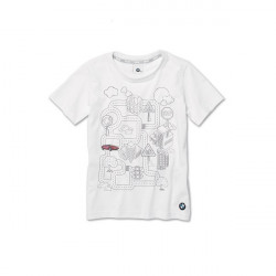 T-Shirt interactif BMW, enfant-1